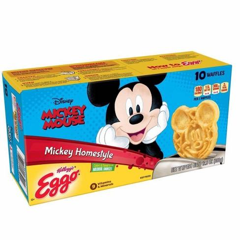 Kellogg's Eggo MickeyMouse Frozen Homestyle Waffles - 12.3oz/10ct - image 1 of 4