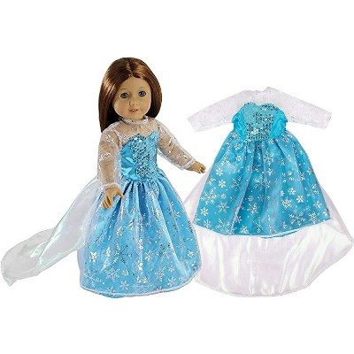 Dress Along Dolly Else Frozen Inspired Outfit for American Girl Doll