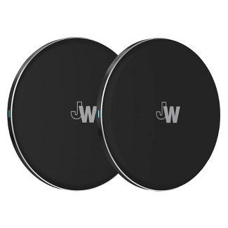 Just Wireless Qi Charger 2pk - Black