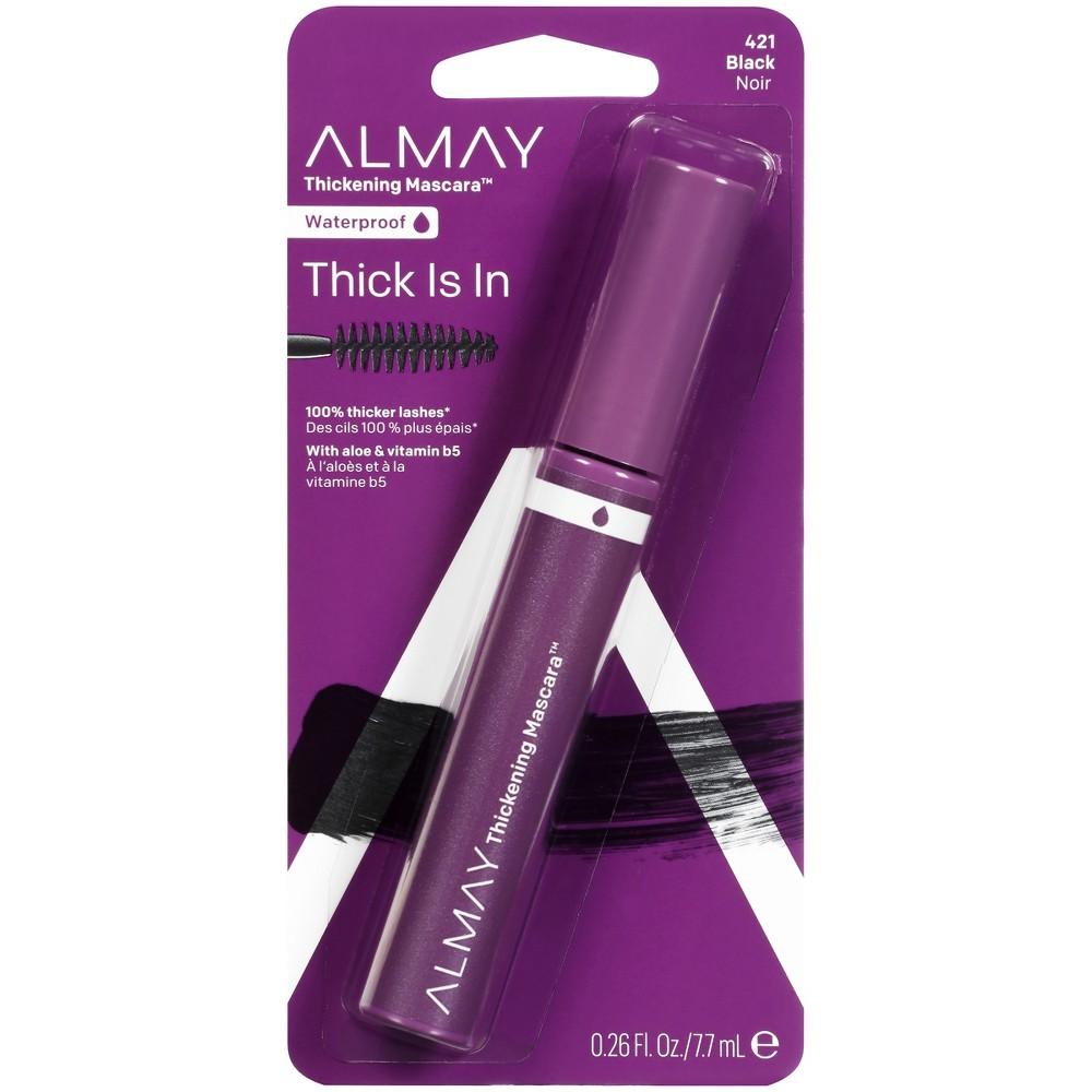 Image of Almay Thickening Waterproof Mascara 421 Black - 0.26 fl oz, 421 Waterproof Black