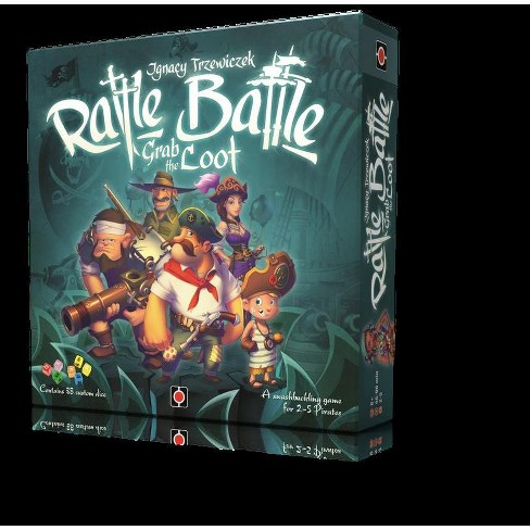 Rattle, Battle, Grab the Loot Board Game - image 1 of 2