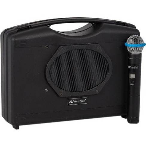 AmpliVox SW223A Wireless Audio Portable Buddy with Wireless Handheld Mic - 50 W Amplifier - Cable, Wireless Microphone - Battery - Built-in Amplifier - image 1 of 4