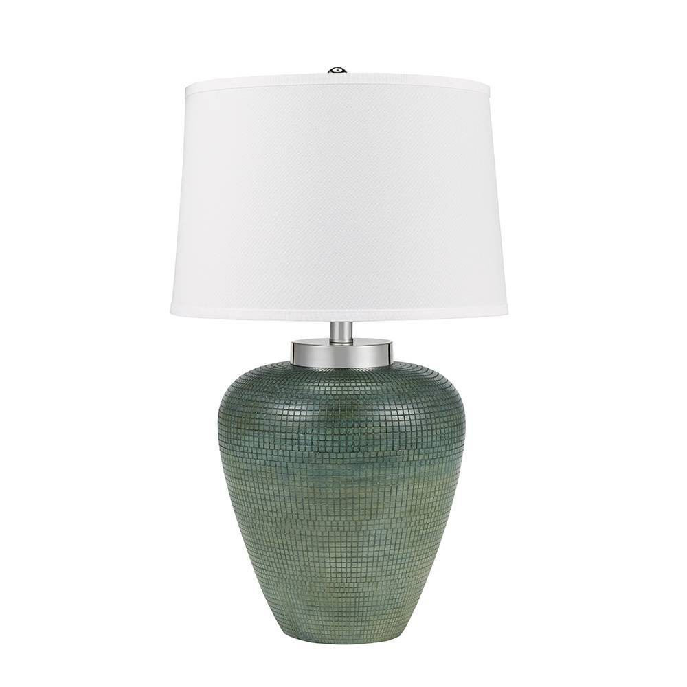 Napa Table Lamp White (Includes Energy Efficient Light Bulb) - Cresswell Lighting