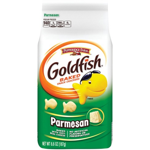 Pepperidge Farm® Goldfish® Parmesan Crackers, 6.6oz Bag - image 1 of 6
