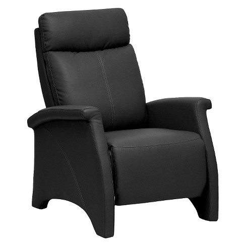 Sequim Modern Recliner Club Chair Black - Baxton Studio - image 1 of 4