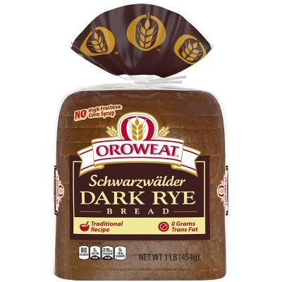 Oroweat Dark Rye Bread - 16oz