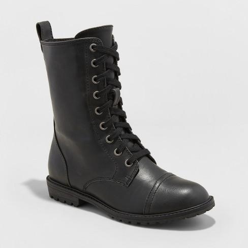 Women s Cassandra Combat Boots - Universal Thread™   Target 91810b7f64