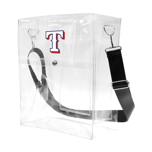 MLB Texas Rangers Clear Ticket Satchel - image 1 of 4
