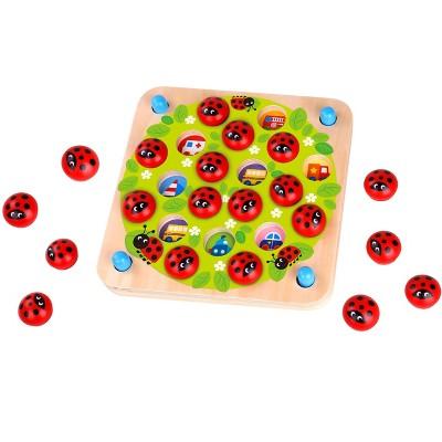 Fat Brain Toys Ladybugs Garden Memory Game FB256-1