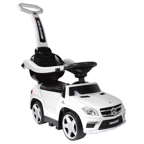 Led Lights For Cars >> Best Ride On Cars Baby 4 In 1 Mercedes Push Car Stroller With Led Lights White