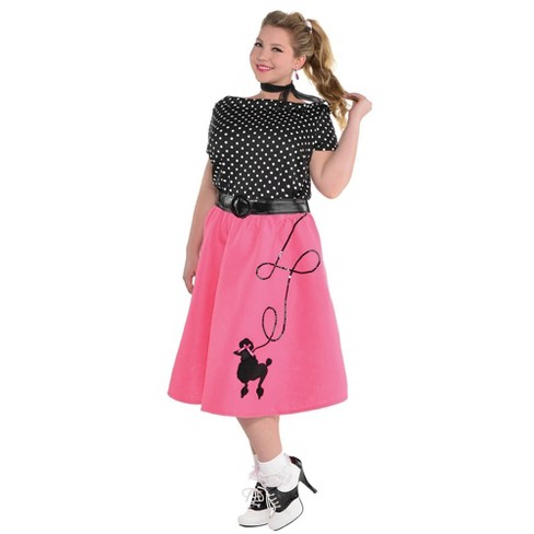 Adult 50'S Flair Halloween Costume XXL18-20 - image 1 of 1