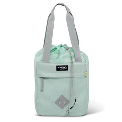 Igloo Heritage Repreve Drawstring 12 Can Portable Cooler - Mint