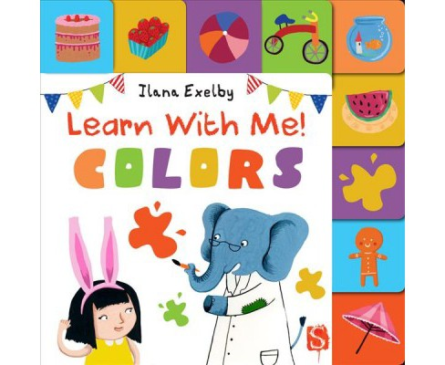 Learn With Me! Colors (Hardcover) - image 1 of 1