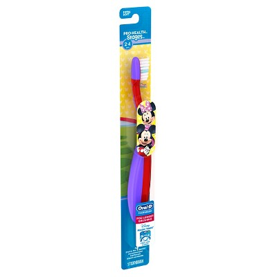 Oral-B Pro-Health Stages Manual Toothbrush featuring Disney Minnie Mouse - 1ct