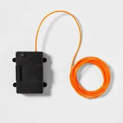 9' LED Halloween Mini Rope Light with Timer Orange - Hyde & EEK! Boutique™