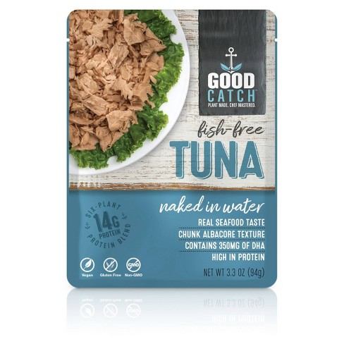 Good Catch Naked in Water Fish-Free Tuna - 3.3oz - image 1 of 3