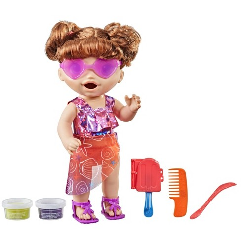 Baby Alive Sunshine Snacks - Brown Hair - image 1 of 4