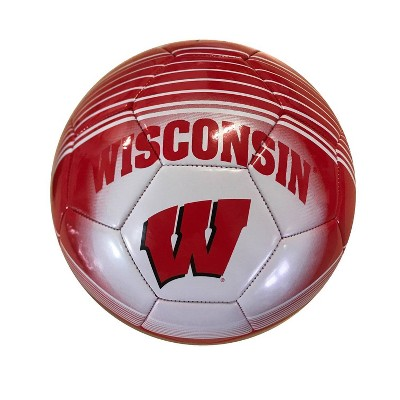 FIFA Wisconsin Badgers officially Licensed Size 5 Soccer Ball