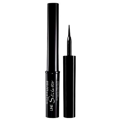 Maybelline Line Stiletto Ultimate Precision Liquid Eye Liner 01 Blackest Black 0.05 fl oz