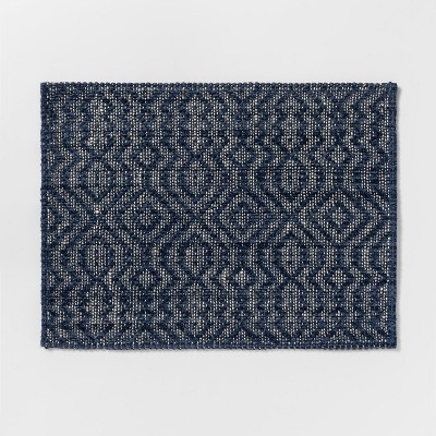 19 x14  Kitchen Textile Placemat Blue - Threshold™