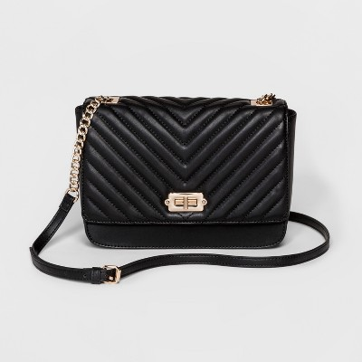Women's Quilted Crossbody Bag - A New Day™