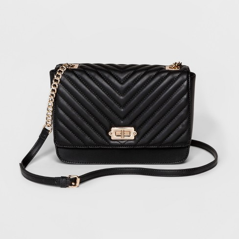 Women's Quilted Crossbody Bag - A New Day™ - image 1 of 9