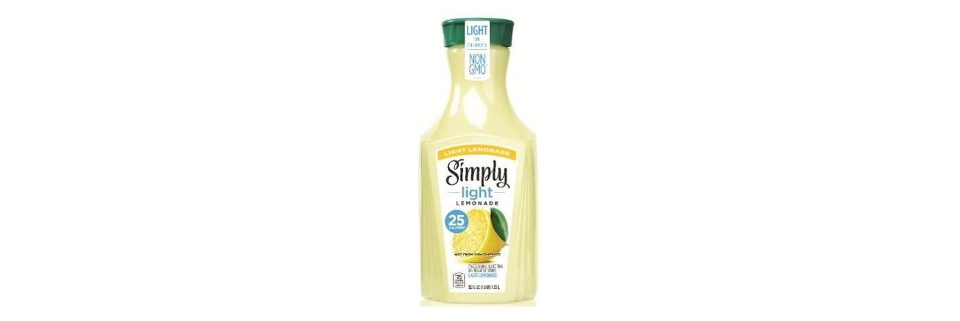 Simply Light Lemonade Juice Drink - 52 fl oz Bottle - image 1 of 1