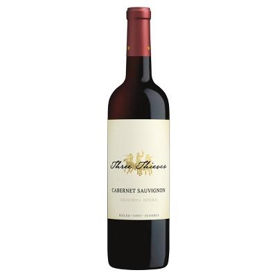 Three Thieves Cabernet Sauvignon Red Wine - 750ml Bottle