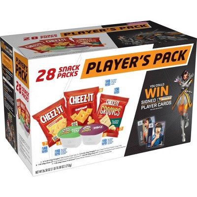 Cheez-It Overwatch Players Pack - 26oz/28ct