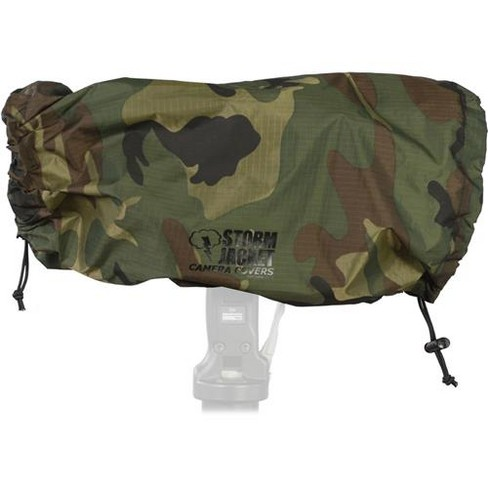 Vortex Media Pro Storm Jacket Cover for an SLR Camera with a Large Lens Measuring 14  to 23  from Rear of Body to Front of Lens, Color: Camo - image 1 of 1