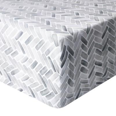 Copper Pearl Premium Crib Sheet - Alta