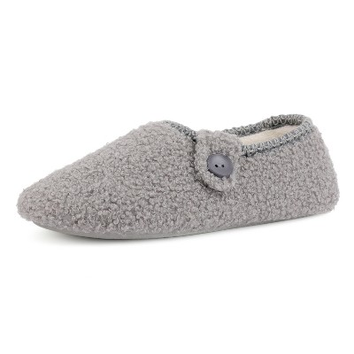 RockDove Women's Brea Button Moc Slipper