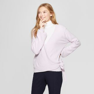 Save 50% on Women's Wrap Sweater - A New Day