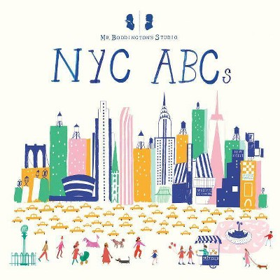 Mr. Boddington's Studio: NYC ABCs - (Board Book)