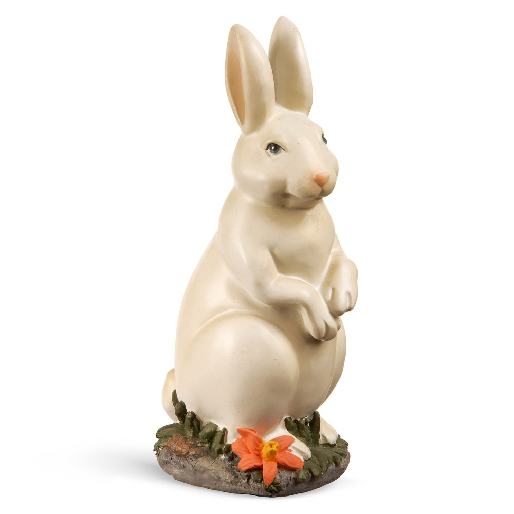 "Image of ""10"""" Standing Bunny - National Tree Company, White"""