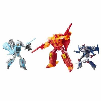 Titan Force Set SDCC Exclusive Voyager Class  | Transformers Generations Titans Return Action figures