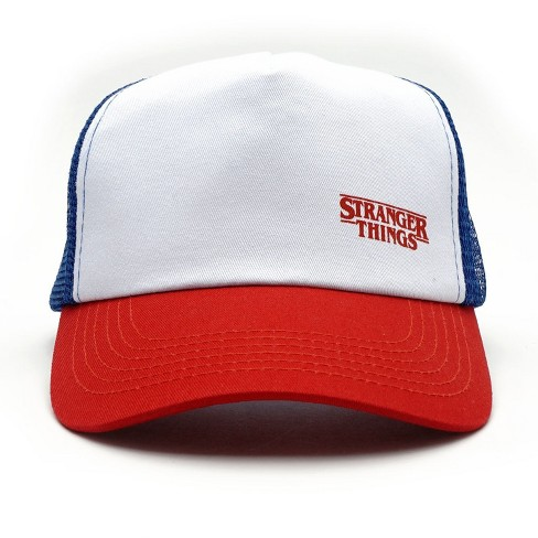 Loungefly Stranger Things Dustin s Red White And Blue Trucker Hat   Target c238ac5792f2