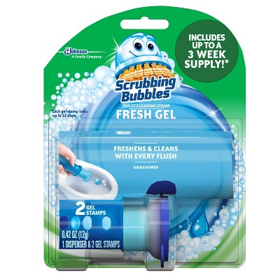 Toilet Cleaner: Scrubbing Bubbles Stamp