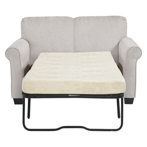 Cansler Twin Sofa Sleeper Pebble Gray - Signature Design By Ashley ...