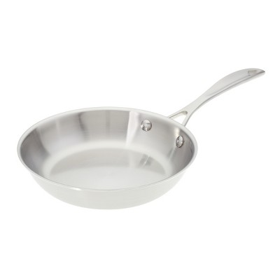 American Kitchen Cookware Tri-Ply Stainless Steel 8 Inch Skillet