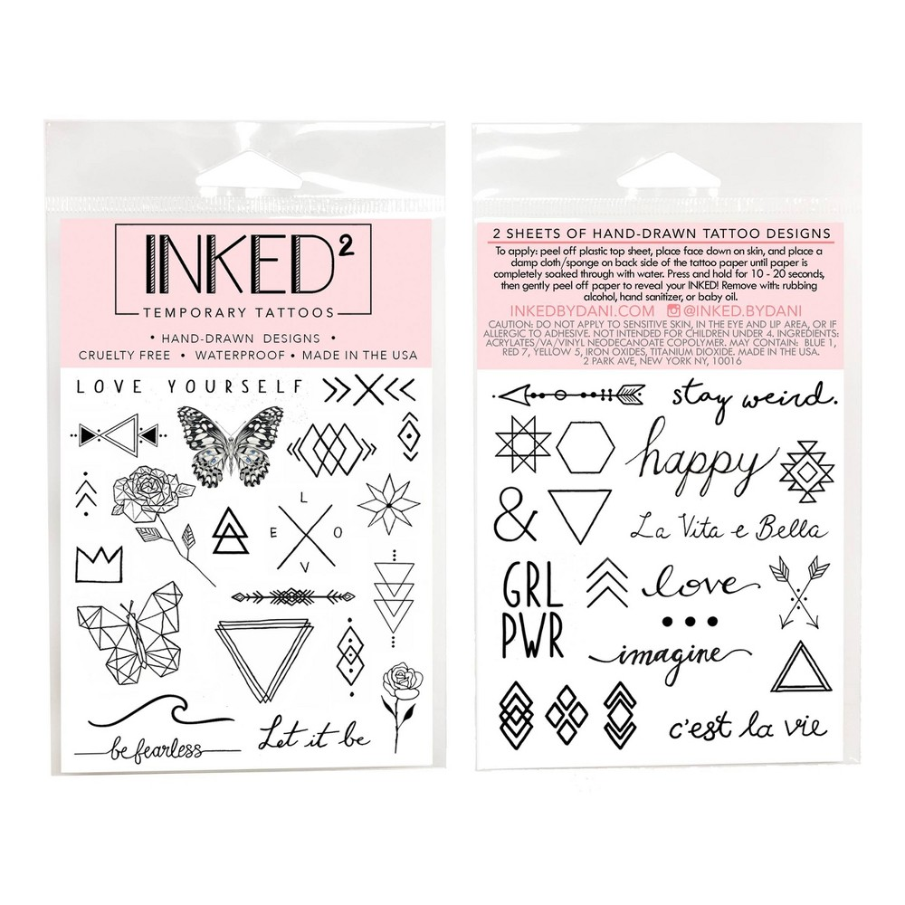 Image of INKED By Dani Inspiration Pack
