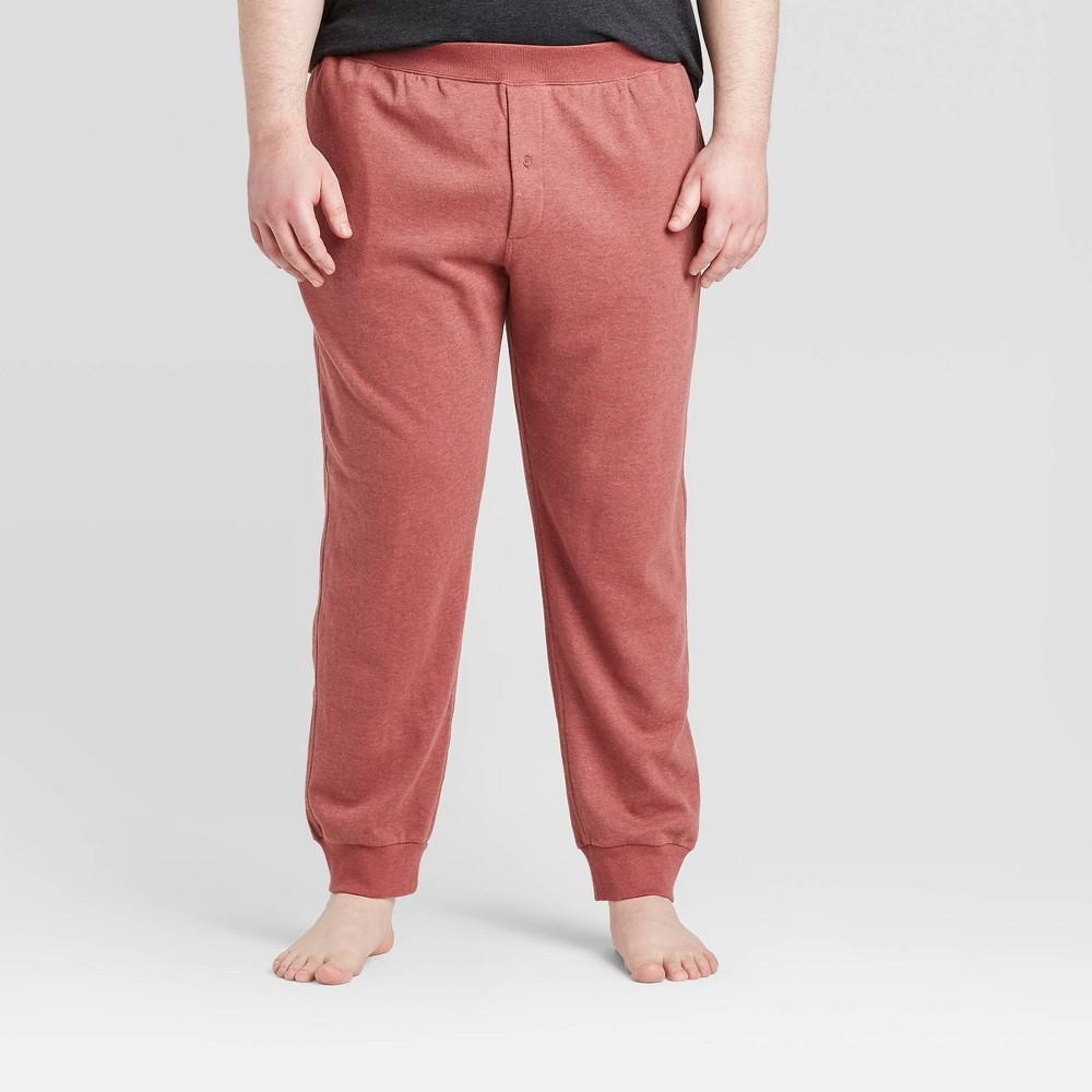 Men 39 S Big 38 Tall Knit Jogger Pajama Pants Goodfellow 38 Co 8482 Red 2xbt