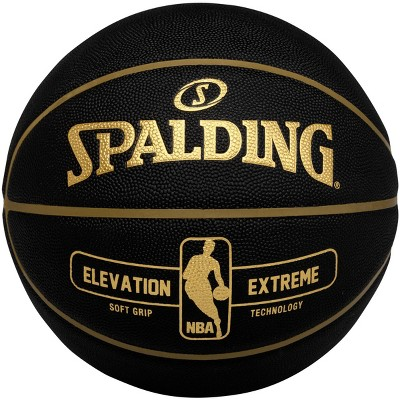 "Spalding Elevation Extreme 29.5"" Basketball - Black"