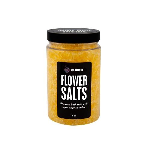 Da Bomb Bath Fizzers Flower Bath Salts Jar - 16oz - image 1 of 3