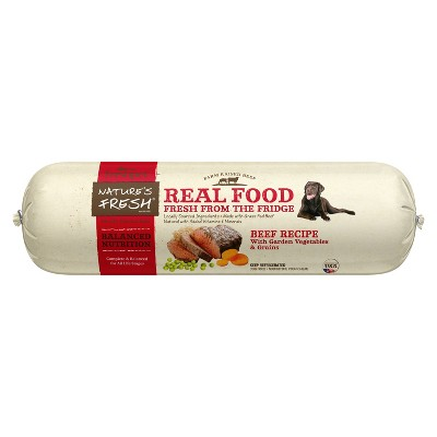 Freshpet Nature's Fresh Roll Beef Recipe Refrigerated Dog Food