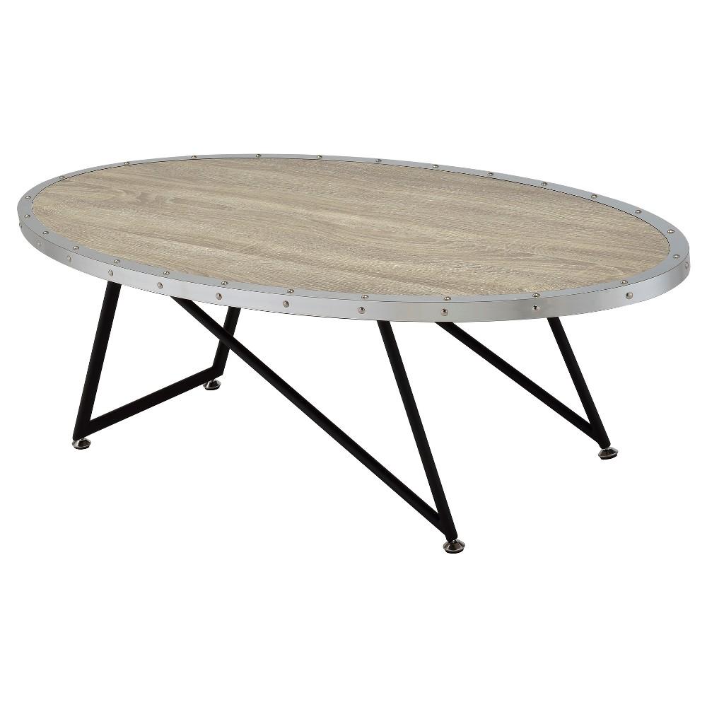 Coffee Table Oak Gray, Gray Oak