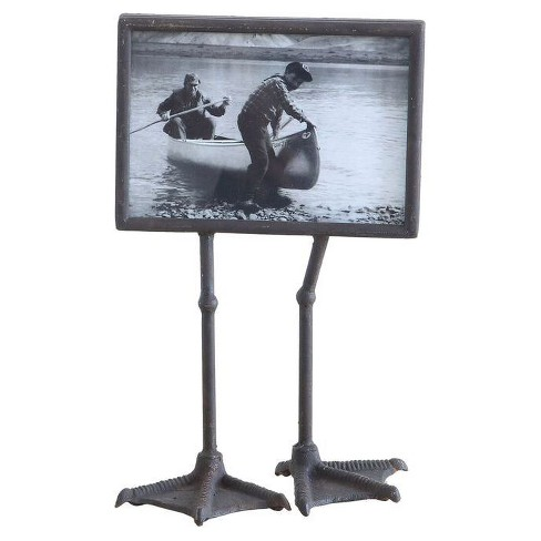 "Duck Feet Metal Photo Frame (7""x5"") Bronze - 3R Studios - image 1 of 1"