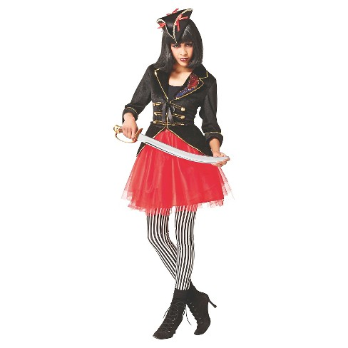 Women's Pirate Plus Size Costume Jacket - image 1 of 1