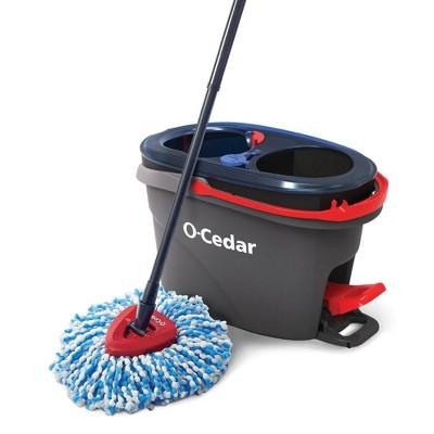 O-Cedar EasyWring Rinse Clean Spin Mop & Bucket