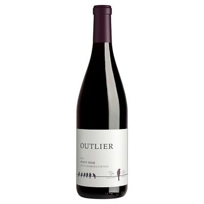 Outlier Pinot Noir Red Wine - 750ml Bottle